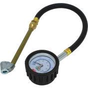 """Milton® Dial Tire Pressure Gauge Dual Head Air Chuck w/12"""" Hose, 0 to 60 PSI, S-935"""