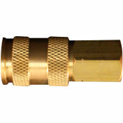 "Milton s-764 V Style High Flow Coupler 1/4"" FNPT"