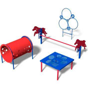 "BarkPark™ Kit 1 ""Novice"" - Playful (Blue)"