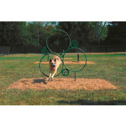 BarkPark™ Hoop Jump - Natural (Green)