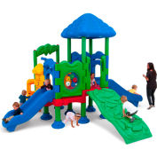 UltraPlay® Discovery Center 4 Deck Play Structure w/ Anchor Bolt
