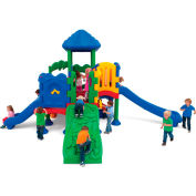 UltraPlay® Discovery Center 5 Deck Play Structure w/ Anchor Bolt
