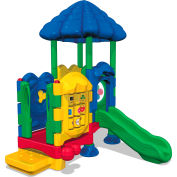 UltraPlay® Discovery Center Seedling Play Structure w/ Roof & Ground Spike