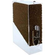 Update International Whole Bean Dispenser, 9Lbs Cap., Acrylic, CBD-AC