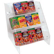 """Update International Cereal Organizer Acrylic, 12""""L x 14""""W x 15""""H, 36 Boxes, CRO-36"""