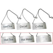 Update International Chain Sign-Hot Tea , CS-HTE - Pkg Qty 120
