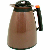 Update International Coffee Server, 20 Oz., Black & Gold, H422/20 - Pkg Qty 24