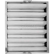 "Update International Hood Filter 25""L x 20""W, Stainless Steel, HF-2520 - Pkg Qty 6"