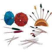 Chenille Kraft® CKC369001, Flat Wood Toothpicks, Natural, Plain 2500/Pack