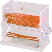 "Update International Stir Dispenser, 6 5/8""L x 4""W x 5-1/2""H, Acrylic, SSD-AC - Pkg Qty 12"