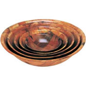 "Update Int. 18"" Woven Wood Bowl - Pkg Qty 12"