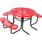 "46"" ADA Round Table, Diamond, Red"