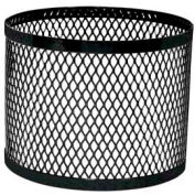 Round UltraCoat Outdoor Planter, Diamond - Black