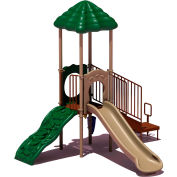 UPlay Today™ South Fork Commercial Playground Playset, Natural (Green, Tan, Brown)