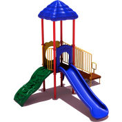 UPlay Today™ South Fork Commercial Playground Playset, Playful (Red, Yellow, Blue)