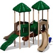 UPlay Today™ Signal Springs Commercial Playground Playset, Natural (Green, Tan, Brown)