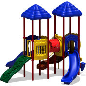 UPlay Today™ Signal Springs Commercial Playground Playset, Playful (Red, Yellow, Blue)