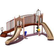 UPlay Today™ Hamilton Ridge Commercial Playground Playset, Natural (Green, Tan, Brown)