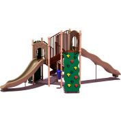 UPlay Today™ Timber Glen Commercial Playground Playset, Natural (Green, Tan, Brown)