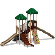 UPlay Today™ Bighorn Commercial Playground Playset, Natural (Green, Tan, Brown)