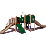 UPlay Today™ Carson's Canyon Commercial Playground Playset, Natural (Green, Tan, Brown)