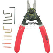 Urrea Retaining Ring Pliers Set, 382, 10 Piece Set