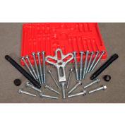 Urrea Harmonic Balancer & Steering Puller Set 4205A, 27 Pieces