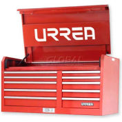 "Urrea Tool Chest, 44410, 10 Drawers, 46""L X 24""W X 23-13/16""H"