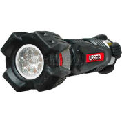 Urrea Heavy Duty LED Flashlight, 7L3A, 20 Lumens, 9 LEDs