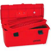 """Urrea Plastic Tool Box, 9902, 23""""L x 11-3/8""""W x 10-1/2""""H"""