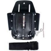 Urrea Industrial Leather Tool Belt, BN132, 4 Pockets