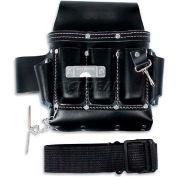 Urrea Industrial Leather Tool Belt, BN133, 7 Pockets