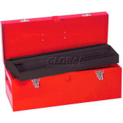 "Urrea Metal Tool Box, D5, 20""L X 7-7/8""W X 7-7/8""H, 24 Sheet Gauge"