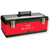 "Urrea Metal Tool Box, D71, 23""L X 11""W X 8-5/8""H, 23 Sheet Gauge"