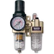"Urrea Air Filter/Regulator & Lubricator UPWL2, 1/4"" NPT, 500 Flow L/Min"