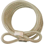 """ABUS Steel Cable 00066 - 5/16"""" x 6' - Pkg Qty 6"""