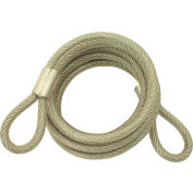 """ABUS Steel Cable 00086 - 1/4"""" x 6' - Pkg Qty 6"""