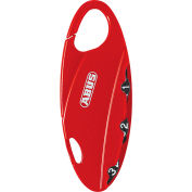 ABUS Bakpac™ 3-Digit Combination Padlock 151/20 Red - Pkg Qty 6