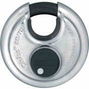 ABUS Stainless Steel Diskus 20/70 KD B with Plus Disk Cylinder - Pkg Qty 3
