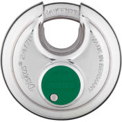 ABUS All Weather Steel Diskus Padlock 24IB/70 KD Keyed Different - Pkg Qty 3