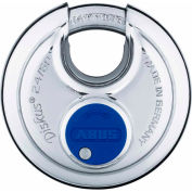 ABUS All Weather Steel Diskus Padlock 24IB/50 KD Keyed Different - Pkg Qty 3