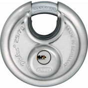 ABUS Stainless Steel Maximum Security Diskus 25/70 KD Dimple Key - Keyed Different - Pkg Qty 3