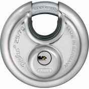 ABUS Stainless Steel Maximum Security Diskus 25/70 KA with Dimple Key - Keyed Alike - Pkg Qty 6