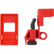 ABUS E201 120/277V Single Pole Clamp-On Breaker Lockout with Cleat, 00368 - Pkg Qty 12