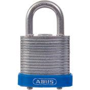"ABUS Eterna Laminated Steel Padlock 41/30 B KD Keyed Different - Silver 1-1/8"" - Pkg Qty 6"