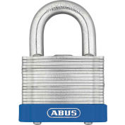 "ABUS Eterna Laminated Steel Padlock 41/45 C KD Keyed Different - Silver 1-3/4"" - Pkg Qty 6"