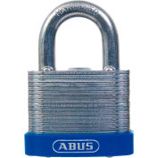 "ABUS Eterna Laminated Steel Padlock 41/50 C KD Keyed Different - Silver 2"" - Pkg Qty 6"