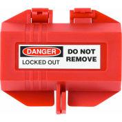 ABUS P110 Electrical & Switch Power Plug Lockout Device 110V, 00450 - Pkg Qty 10