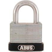 "ABUS Economy Laminated Steel Padlock 45/30 C KD 13/64"" Dia. Shackle - Keyed Different 1-1/8""W - Pkg Qty 3"