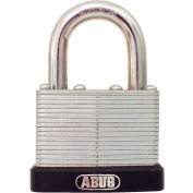 "ABUS Economy Laminated Steel Padlock 45/45 C KD 5/16"" Dia. Shackle - Keyed Different 1-3/4""W - Pkg Qty 3"